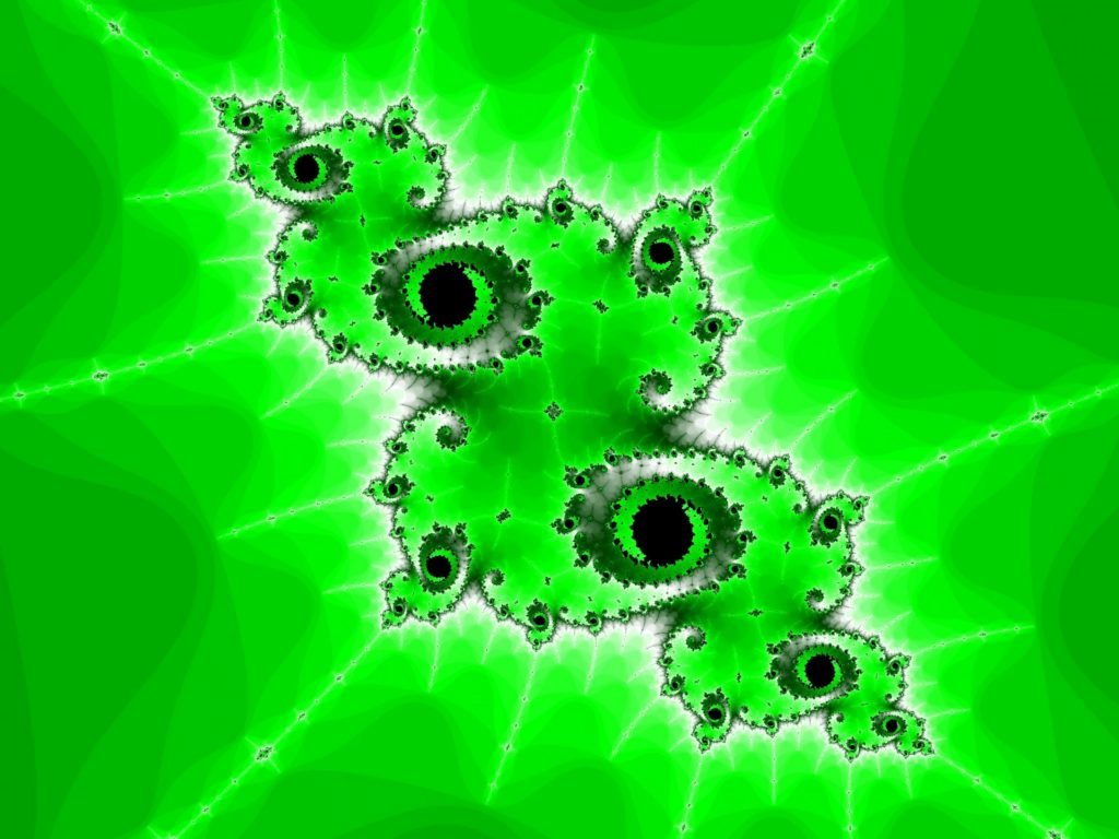 green-patterned-fractal
