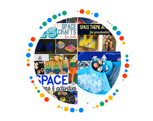 space activity pinterest board