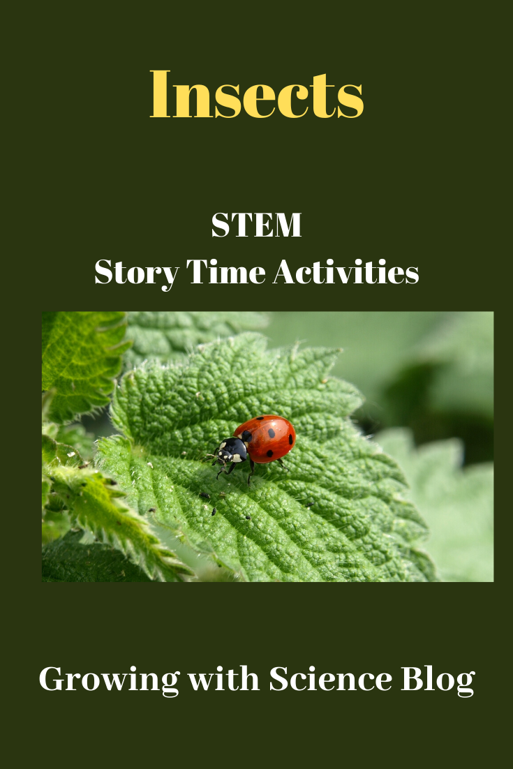 Stem Preschool Story Time Insect Theme Activities Growing With Science Blog