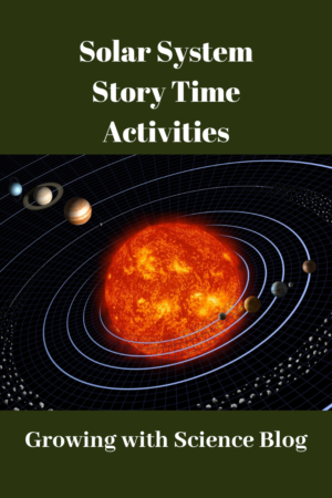 STEM Preschool Story Time Solar System Activities