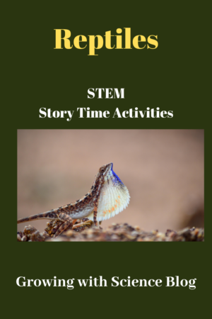 Preschool STEM Story Time:  Reptiles