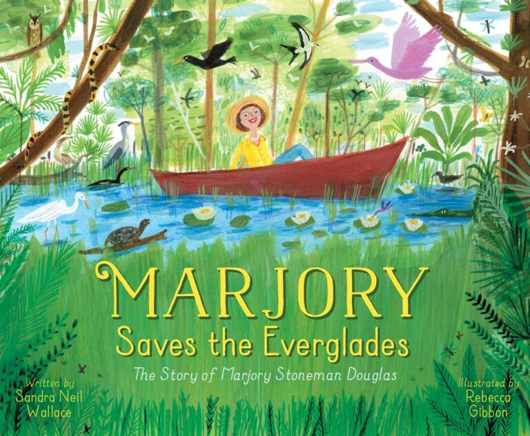 #KidlitSTEM Marjory Saves the Everglades Giveaway