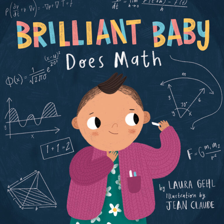 STEM Friday #Kidlit Brilliant Baby Does Math