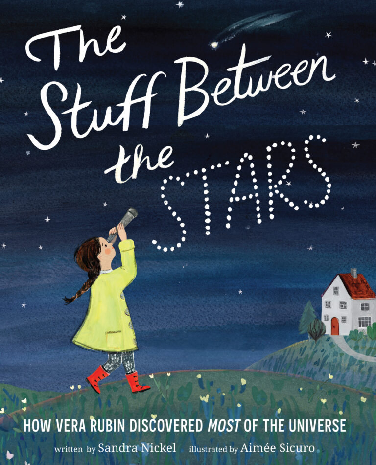 #Nonfiction Monday #kidlit:  The Stuff Between the Stars with a Giveaway