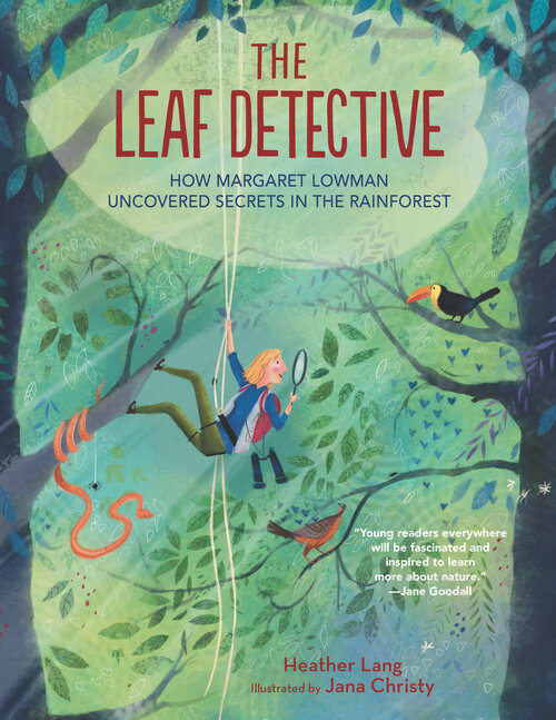 #kidlit Blog Tour and Giveaway:  The Leaf Detective